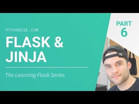 Working With Jinja Templates - Python On The Web - Learning Flask Series Pt. 6