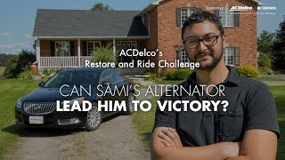 ACDelco's Restore and Ride Challenge - Can Sami's 2011 Buick Regal Lead Him to Victory?