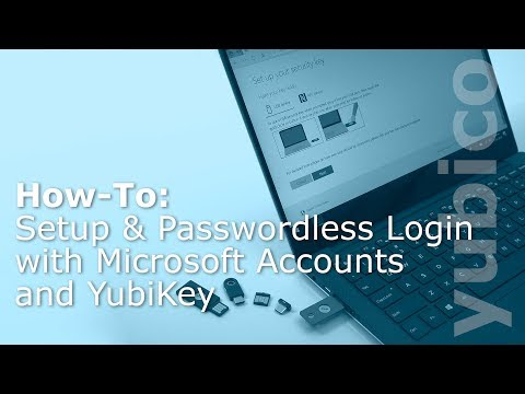 Password-less Login with the YubiKey 5 Comes to Microsoft Accounts