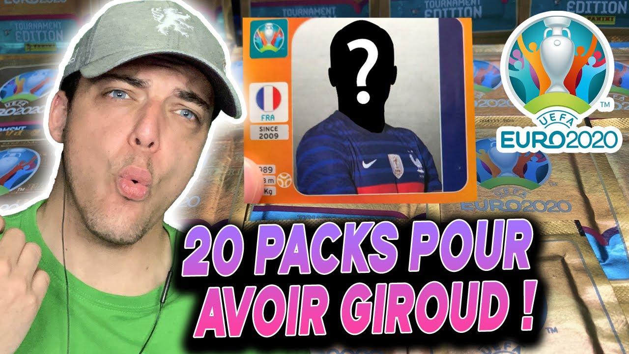20 PAQUETS POUR AVOIR GIROUD ! OUVERTURE DE PACK EURO2020 ! SD.