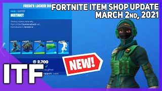 Fortnite Item Shop *NEW* FRESH'S LOCKER BUNDLE! [March 2nd, 2021] (Fortnite Battle Royale)