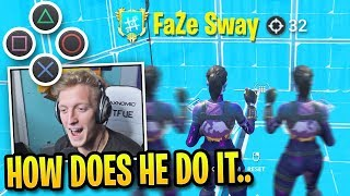 16 Minutes of Tfue AMAZED Spectating FaZe Sway DOMINATE...