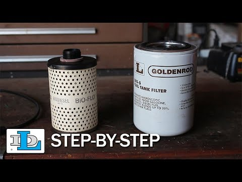 Replacing a Fuel Tank Filter Element or Canister - Step-By-Step