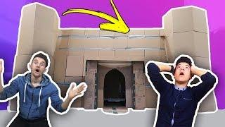 DIY | سوينا أكبر بيت في العالم من الكرتون !!!