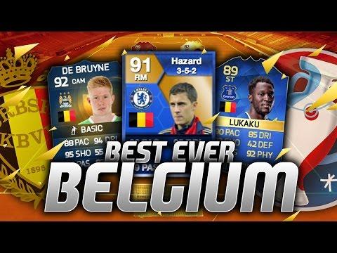 BEST EVER BELGIUM SQUAD! w/ TOTS Lukaku & TOTS Hazard! (FIFA Generations)