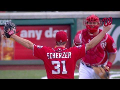 PIT@WSH: Scherzer completes no-hitter vs. Pirates
