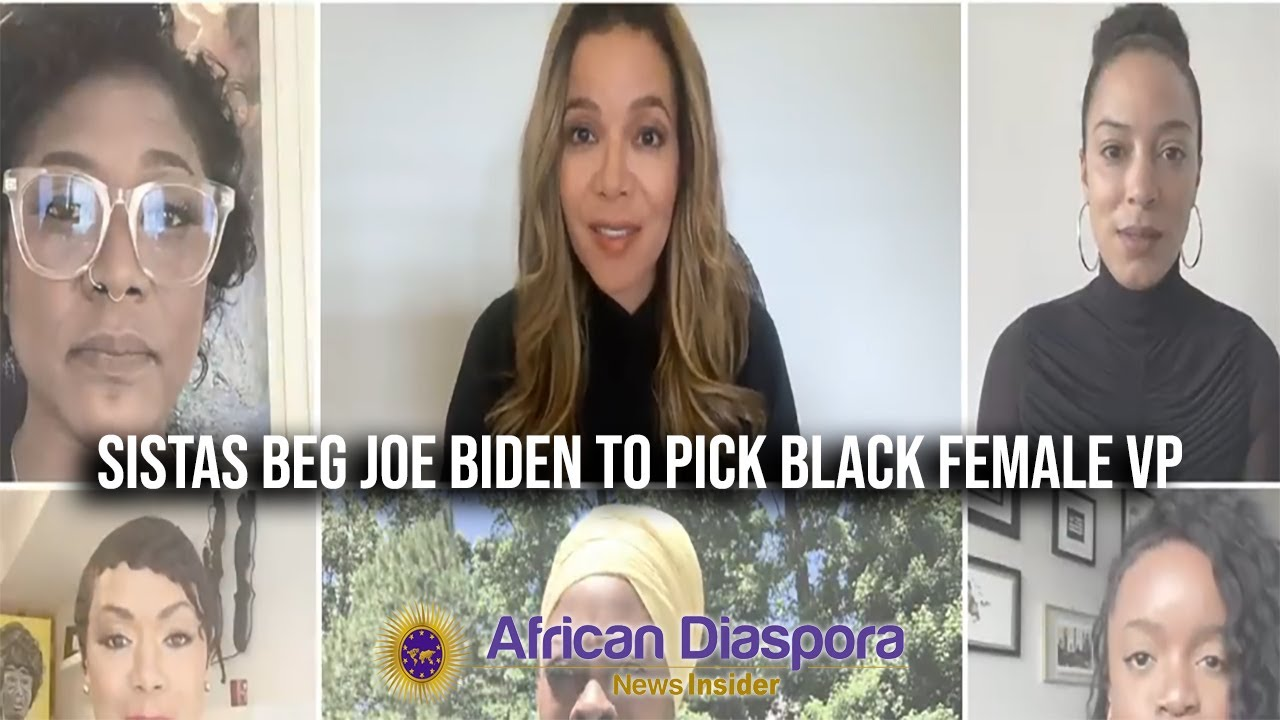 Female Political Commentators Beg Joe Biden To Pick A Black Woman VP To Run On The Ticket