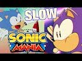 Sonic Mania Opening Animation but its slow