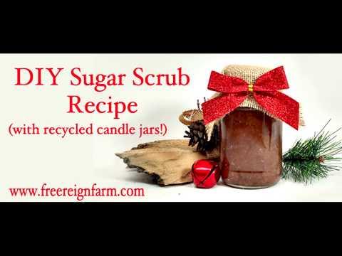 Free Reign Farm DIY Sugar Scrub