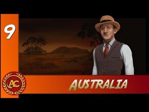 Civilization 6 - Australia Mappa Terra #9 (Gameplay ITA)