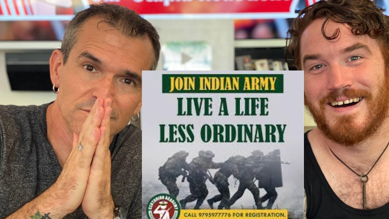Indian Army A Life Less Ordinary REACTION!!   Motivational Video