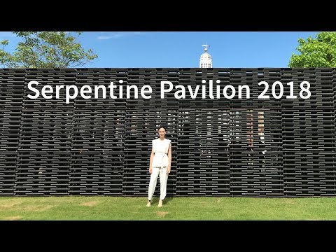 Frida Escobedo: 'Mexican architecture is an architecture of layering' Serpentine Pavilion 2018