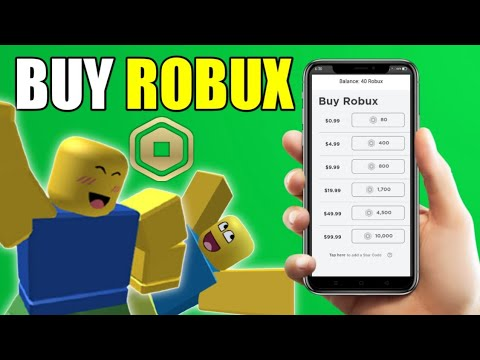 How To Buy Robux In Roblox (2021)
