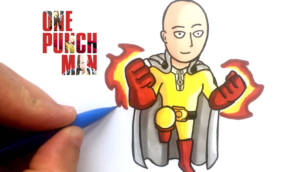 Dessin Saitama Chibi One Punch Man Youtube