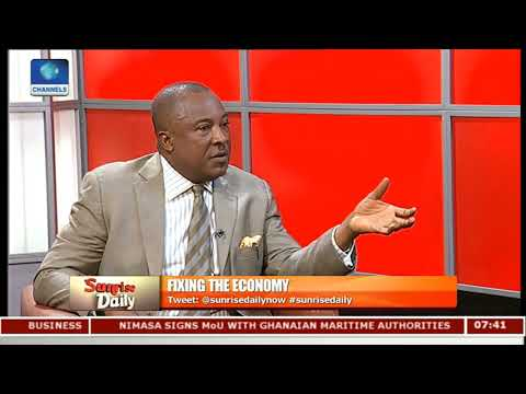 Nigeria's Economy: FG Should Invest More In Technology - Steve Uwazie Pt.1 |Sunrise Daily|