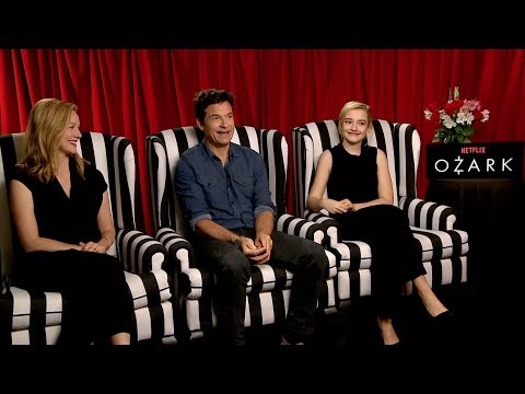 OZARK Interview: Jason Bateman, Laura Linney and Julia Garner