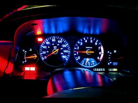 $13 MOD 300ZX Speedo Repair And LED Dash Lights