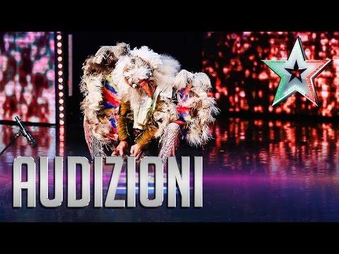 Claudio, l'uomo uccello | Italia's Got Talent 2015