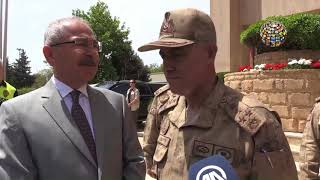 Jandarma Komutanı Orgeneral Arif Çetin bu sefer Mardin'de