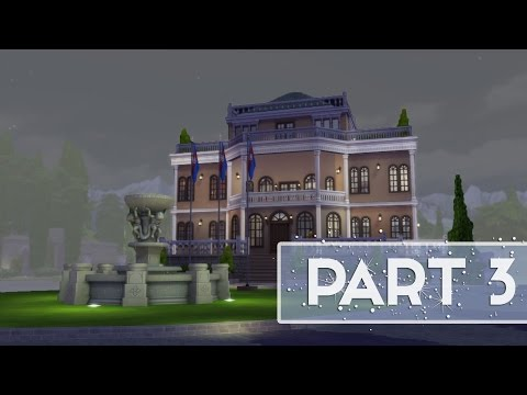 Let's Play: The Sims 4 (Part 3) GATSBY-ESQUE MANSION