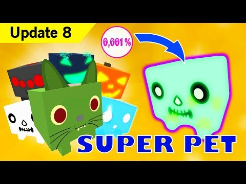 *NEW UPDATE* LIMITED TIME HALLOWEEN SUPER PETS *SKELETON GHOST* In Pet Simulator