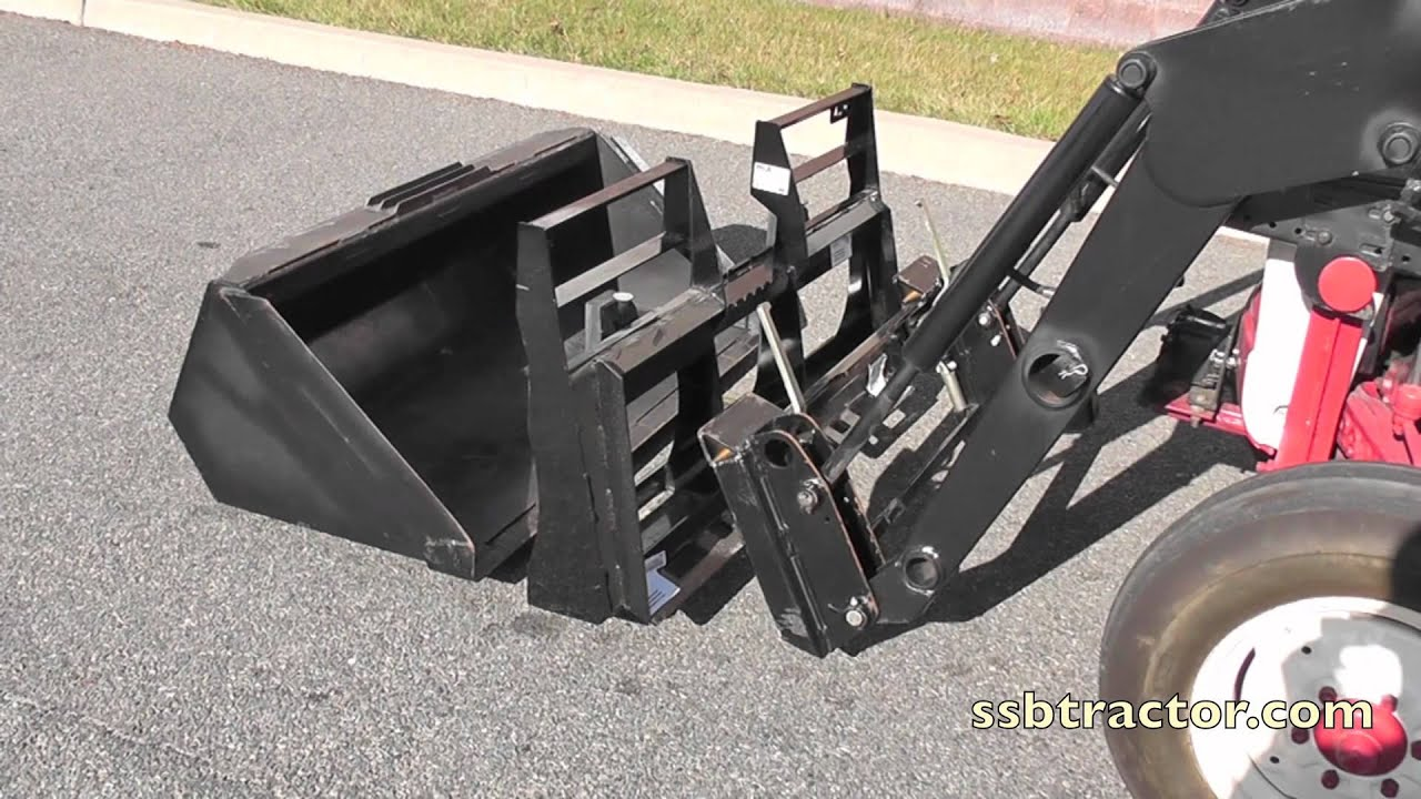 Quick Tach Front End Loader System Amp Tractor Implements
