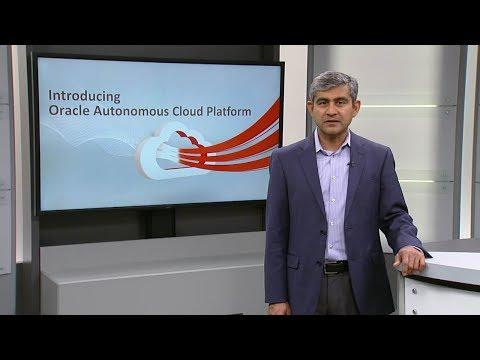 Benefits of Oracle Cloud Platform Autonomous Services