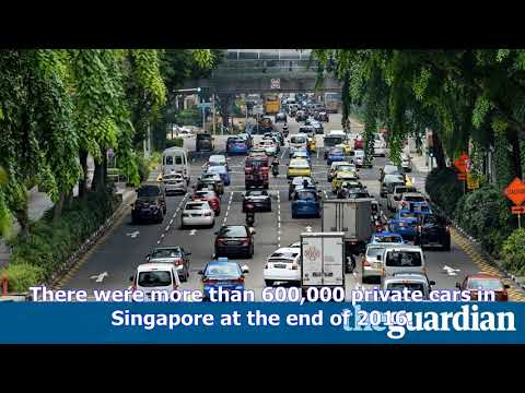 News Today - Singapore: no more cars allowed on the road, government says