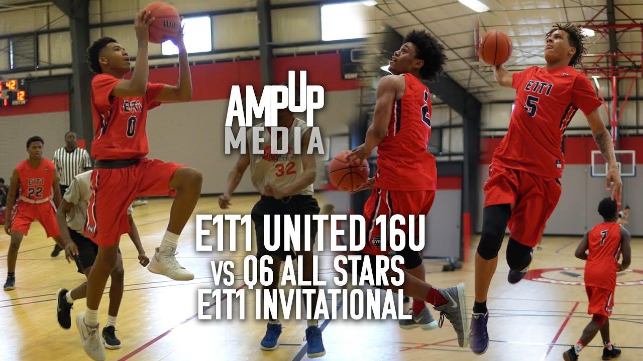 E1t1 United 16u Vs Q6 All Stars Invitational