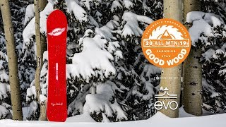 SIMS Kidwell RT2 Review: Men's All-Mountain Winner – Good Wood Snowboard Test 2018-2019