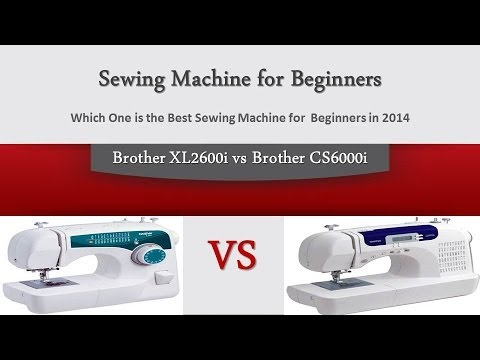 Brother XL40i Vs Brother CS40i Which One Is The Best Sewing Inspiration Best Sewing Machine For The Money 2014