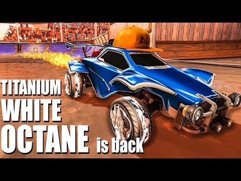 THE TITANIUM WHITE OCTANE IS BACK