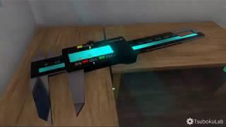 デジタルノギスセイバー【3Dモデル】
