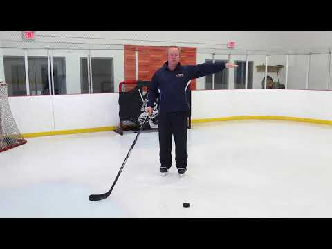 Head Position And Stick Length For Hockey