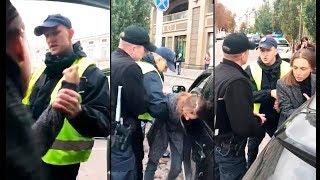 Разбор по видео - Полиция сломала руку девушке