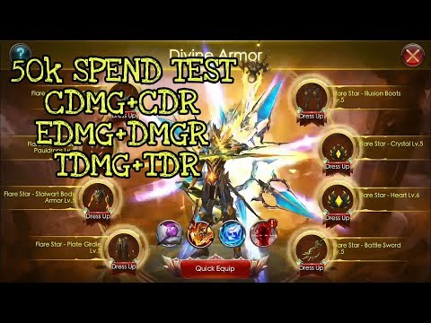 Divine Armor EQUIPPED 50k Spent 😮😮😮 -  Legacy Of Discord