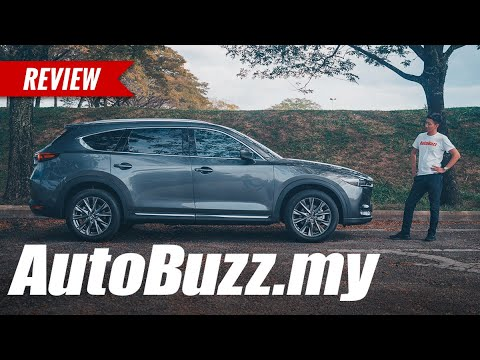 Mazda CX-8 2.2L High turbo diesel 7-seater SUV review - AutoBuzz.my