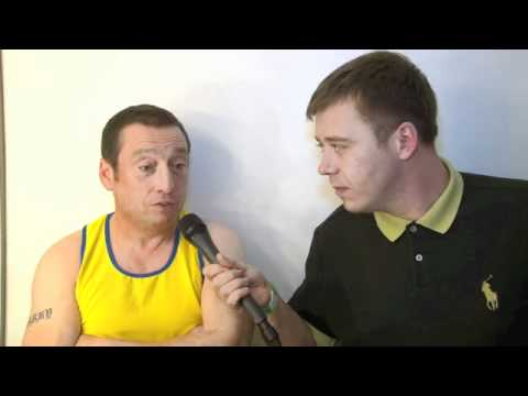Lee MacDonald (aka ZAMMO - Grange Hill) Interview for iFILM LONDON / CHARITY BRAWL