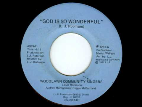 Woodlawn Community Singers - God Is So Wonderful (Instru) [1981].wmv