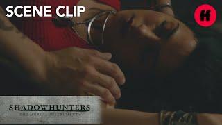 Shadowhunters | Season 2, Episode 4: Izzy Gets Possessed | Freeform