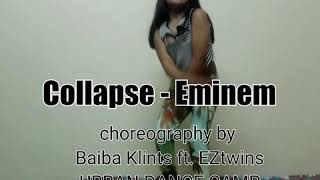Collapse - Eminem / Baiba Klints ft. EZtwins Hip Hop Dance Choreography/URBAN DANCE CAMP/Dance Cover