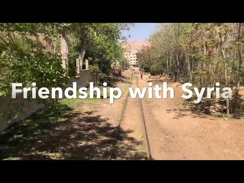 Syria: Riding the old Swiss train in Damascus