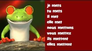 Video Canto conjugación francés ♫♫♫ # Verbo = mettre download MP3, 3GP, MP4, WEBM, AVI, FLV Oktober 2018