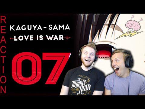 SOS Bros React - Kaguya: Love is War Episode 7 - ABCs of Love