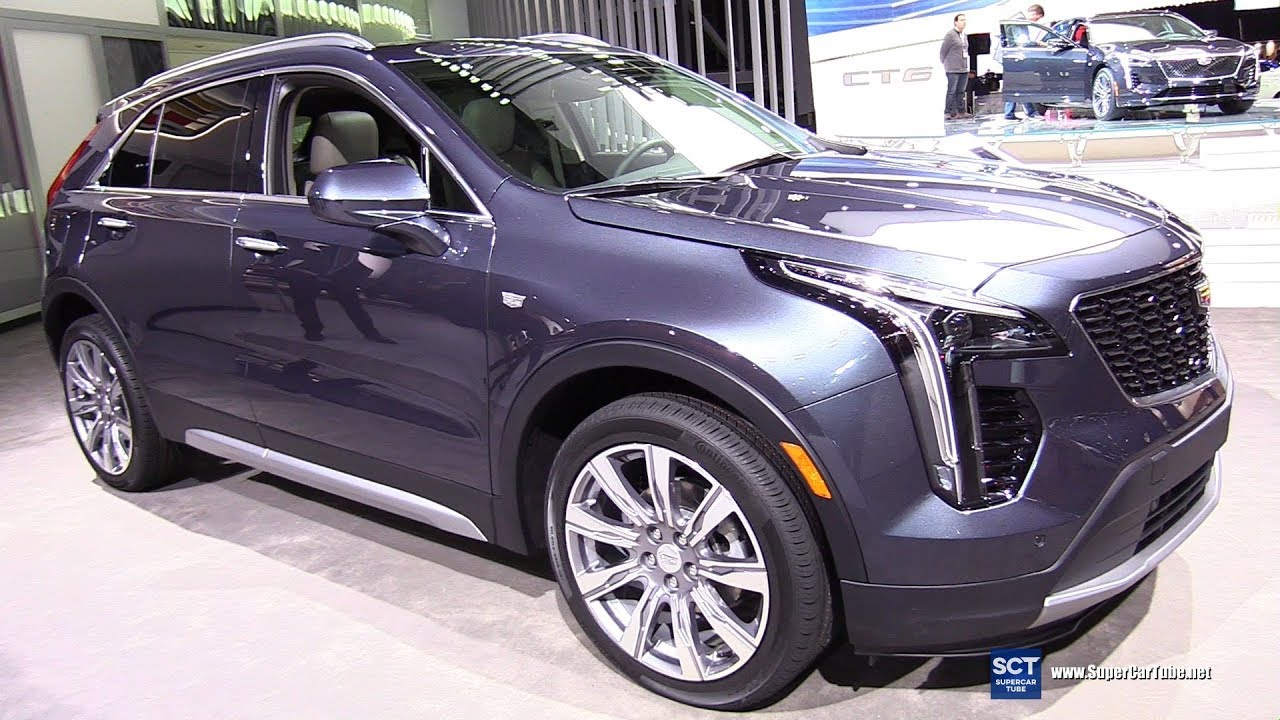 2019 Cadillac Xt4 Exterior And Interior Walkaround Debut At 2018