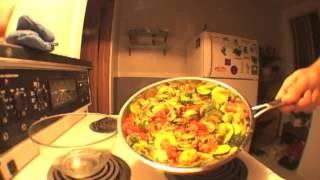 Vegan Lentil Vegetable Stew-down On Rice
