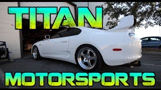 Titan Motorsports - Supra Heaven, 1150BHP Gtrs, Twin Turbo Lamborghini