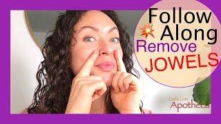 💋Follow along BEST Facial exercises for Nasolabial folds💋Sagging Jowls🎉