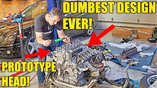 I Fixed The $10,000 Problem With My Twin-Turbo Mercedes V12 Engine! Saving My CL65 AMG At Home!