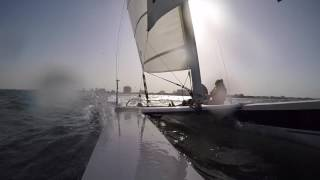 Dart 18, Catamaran Sailing Vlog 003-23/09/2016 Go Pro Hero 4 Silver